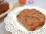 Double Chocolate Banana Bread | Eggless Choc- Banana Bread