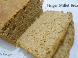 Finger millet bread | healthy bread recipe