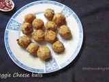 Vegetable Cheese Balls | Easy Kids snack Recipe