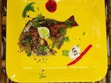 Masala Pomfret - pan Fried Fish