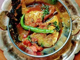 Pomfret Kalia - a bengali sea fish spicy curry