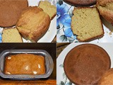 Simple Homemade Cake recipe - Best for Egg or Eggless, Oven or Cooker, Vanilla or Chocolate