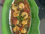 Tamato Chingri - Prawn in Tomato gravy