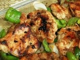 Pan Grilled Chicken in Oyster Sauce