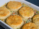 Biscuit Chicken Pot Pie
