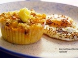 Muffin Monday: Bacon Crusty Cheese and Onion Muffins