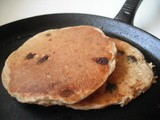 Oatmeal-Chocolate Chip Pancakes