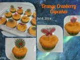 Orders - Orange Cranberry cupcakes & Chocolate Blueberry Cake