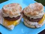 Biscuit Breakfast Sandwiches