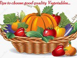 Tips# 61:How to Choose Good Quality Vegetables