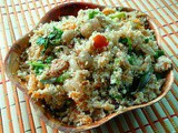 Vegetable Bread Upma