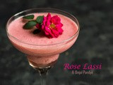 Spiced Rose Lassi Recipe (Indian Yogurt Drink)