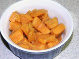 Mulled Cider Sweet Potatoes