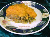 Turkey Shepherd's Pie with Sweet Potato Topping