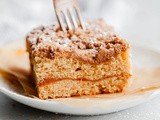 Spiced Coffee Cake with Pumpkin Butter Swirl