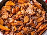 Baked Candied Sweet Potatoes Recipe