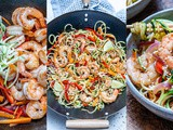 Garlic Shrimp And Zucchini Noodles – Whole30/Paleo Recipe