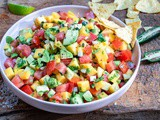 Mango And Avocado Salsa Recipe (Paleo & Whole30)