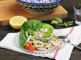 Chicken Salad with Preserved Lemons and Basil