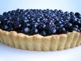 Holding On To Summer with a Fresh Blueberry Tart
