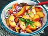 Nectarine and Basil Relish