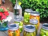 Pickled Tomatillos, Green Beans and Carrots: It's a Pickle Party