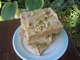 Walnut Penuche Fudge and an Early Kitchen Disaster Redeemed