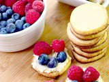 Low Carb Berry Cream Cheese Sugar Cookies