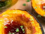 Low Carb Brown Sugar Chile Roasted Acorn Squash