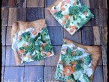 Ranch Veggie Appetizer Pizza