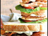 Salmon BLTs with Creamy Lemon Dill Sauce