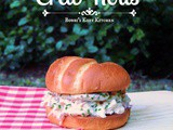 Seattle-Style Dungeness Crab Roll #SundaySupper