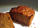 Date and carrot cake - no processed sugar, dairy and gluten free
