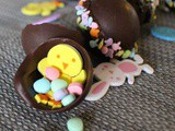 Allergy Friendly Chocolate Surprise Eggs + agt Meets American Idol