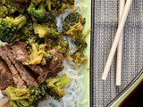 The Easiest Beef and Broccoli and Sending Your First to College