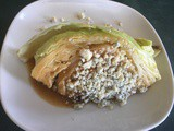 Recipe: Cabbage Wedge with Blue Cheese and Miso Dressing
