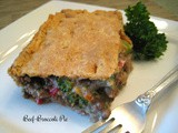 Beef-Broccoli Pie