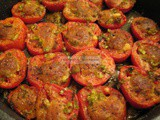 Broiled Shawarma Tomatoes