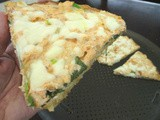 Grilled Steelhead Trout-Spinach Pizza