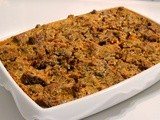 Baked Sunday Mornings - Chocolate-Chunk Pumpkin Bread Pudding