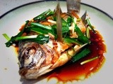 Cantonese Steamed Fish Recipe: Whole Tilapia On The Table