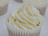Chestnut Cupcakes with White Chocolate Frosting – Bake of the Week