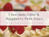 Chocolate, Lime & Raspberry Petit Fours