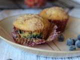 Blueberry Cupcake Muffins