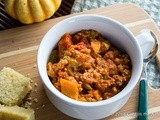 Crockpot Pumpkin Turkey Chili