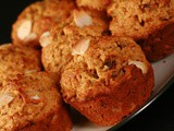 Orange Date and Almond Muffins