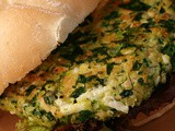 Spinach Feta Salmon Burgers Recipe