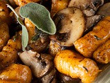 Sweet Potato Gnocchi with Mushrooms and Sage – Gluten Free and aip