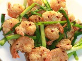Hot butter prawns/shrimps – As found in most of the Chinese restaurants in Sri Lanka -Rasa Kama 100th post