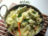 Avial recipe or aviyal recipe – How to make avial recipe